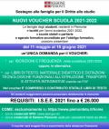 NUOVI VOUCHER SCUOLA 2021-2022